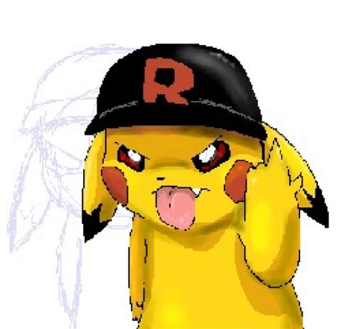 Pikachu flip off (Left 4 Dead 2 > Sprays > Game Characters