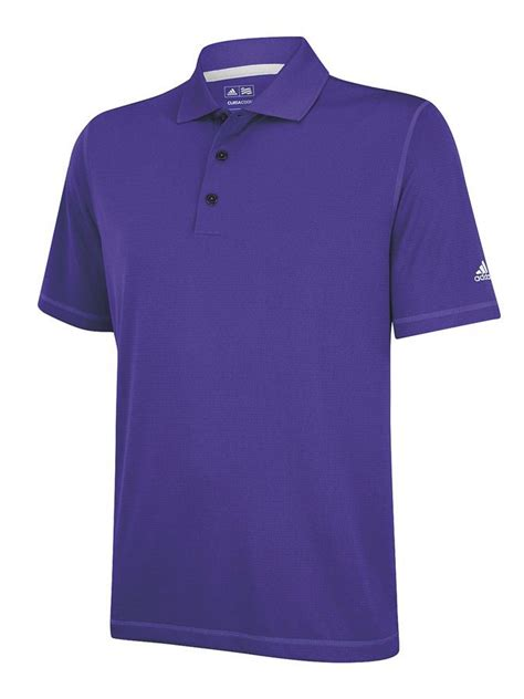 Adidas ClimaLite Short Sleeve Solid Polo - Discount Golf