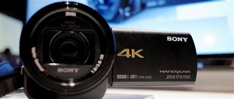 Sony 4K Handycam FDR-AX33 First Impressions Review