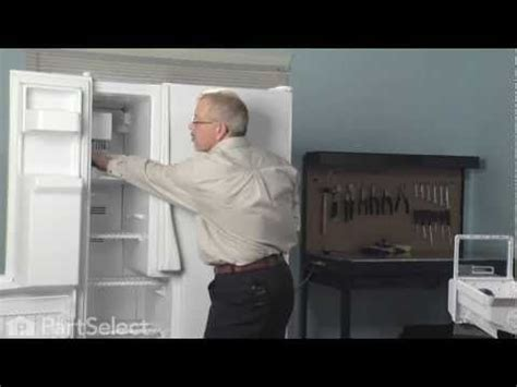 Refrigerator Repair- Replacing the Ice Maker Assembly