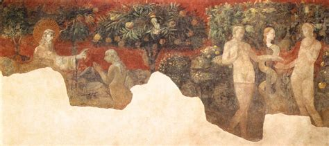 Creation of Eve and Original Sin by UCCELLO, Paolo