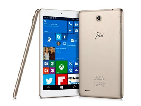 Alcatel Unveils OneTouch Pixi 3 Tablet and CareTime