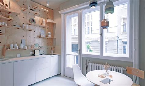 Stylish and minimalist micro-apartment makes the most of