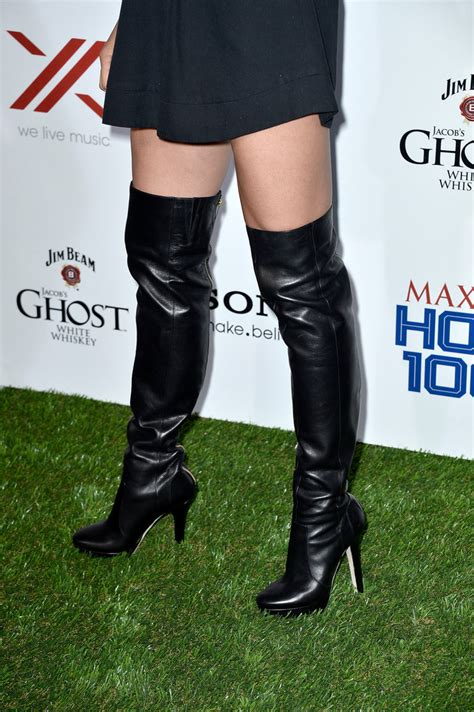 Jill Wagner Over the Knee Boots - Over the Knee Boots