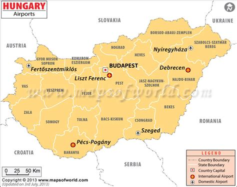 earxagangnad: Political Map Of Hungary